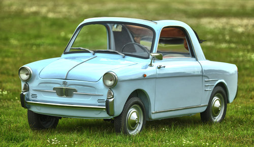 1959 Autobianchi Bianchina Trasformabile Coupe SOLD (picture 1 of 6)