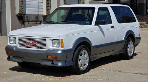 1993 GMC Typhoon 1 owner !!! 70k miles !!! For Sale (picture 1 of 6)