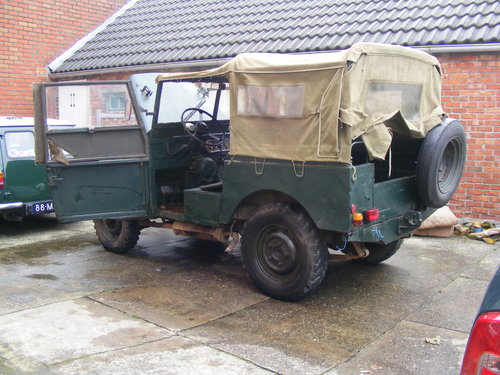 1953 Minerva 80 inch, Rijkswacht/Gendarmerie for sale For Sale (picture 1 of 6)