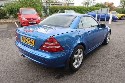 2003 Mercedes SLK 230 Kompressor Convertible Auto  SOLD (picture 3 of 6)