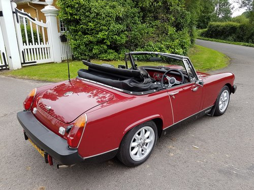 1979 MG Midget 1500 Beautifully restored SOLD (picture 3 of 6)