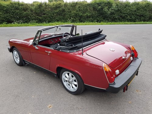 1979 MG Midget 1500 Beautifully restored SOLD (picture 4 of 6)