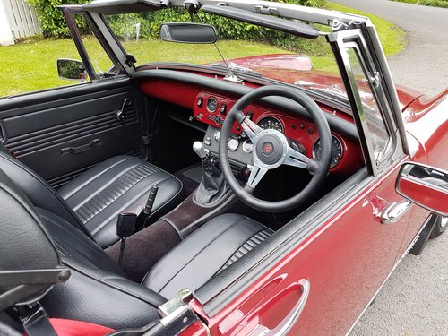 1979 MG Midget 1500 Beautifully restored SOLD (picture 6 of 6)