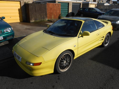1993 TOYOTA MR2 GT t top project car For Sale (picture 1 of 3)