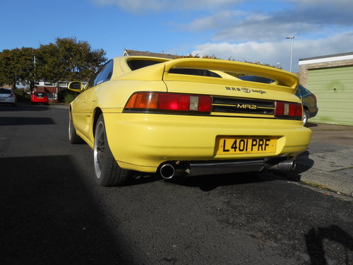 1993 TOYOTA MR2 GT t top project car For Sale (picture 3 of 3)