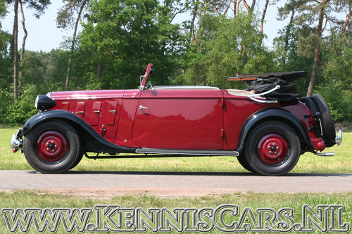Hanomag 1934 Rekord Ambi Budd Convertible For Sale (picture 3 of 6)