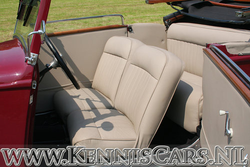 Hanomag 1934 Rekord Ambi Budd Convertible For Sale (picture 5 of 6)