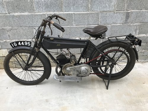 1926 Vintage Terrot 175cc Flat Tank Belt Drive 2 s For Sale (picture 2 of 6)