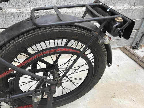 1926 Vintage Terrot 175cc Flat Tank Belt Drive 2 s For Sale (picture 6 of 6)