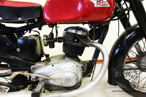 1954 Beautiful Moto Morini 175 LT For Sale (picture 3 of 6)