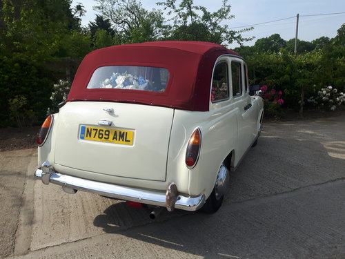 1995 LONDON TAXI - CONVERTIBLE - WEDDING CAR For Sale (picture 6 of 6)