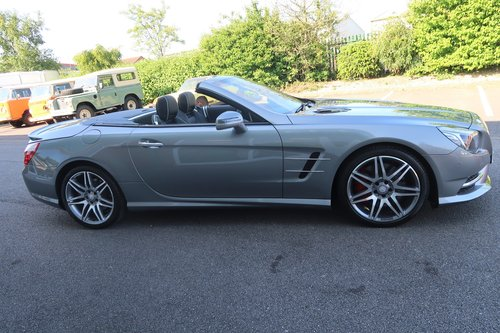 2014 Mercedes SL Class SL SL350 AMG Sport  SOLD (picture 3 of 6)