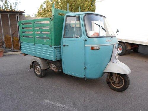 1974 Ape Piaggio 500 Mp. Bella Conservata 1 proprietari SOLD (picture 1 of 6)