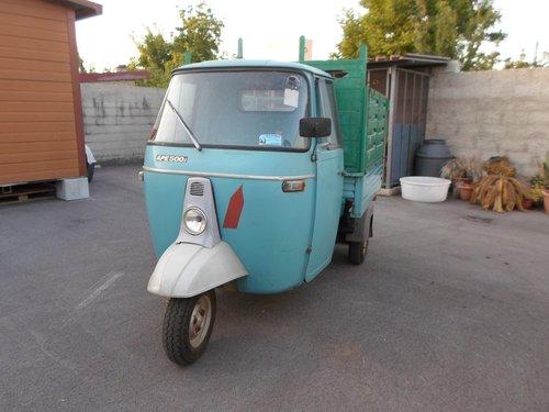 1974 Ape Piaggio 500 Mp. Bella Conservata 1 proprietari SOLD (picture 4 of 6)