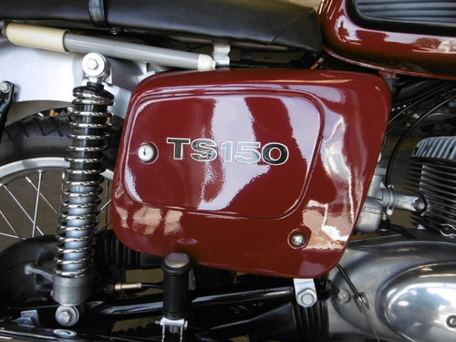 1985 MZ TS150 Full nut and bolt restoration For Sale (picture 5 of 6)