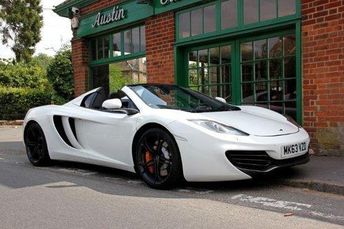2013 McLaren 12C Spider  SOLD (picture 2 of 4)
