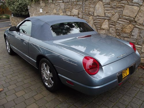 2005 FORD THUNDERBIRD CONVERTIBLE 50TH ANNIV EDT Hard & Soft top SOLD (picture 3 of 6)