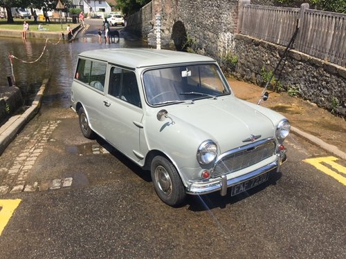 Morris Mini Countryman in tweed grey 1966  great condition For Sale (picture 2 of 6)