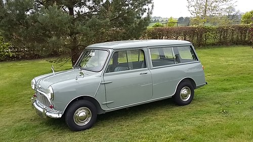 Morris Mini Countryman in tweed grey 1966  great condition For Sale (picture 3 of 6)