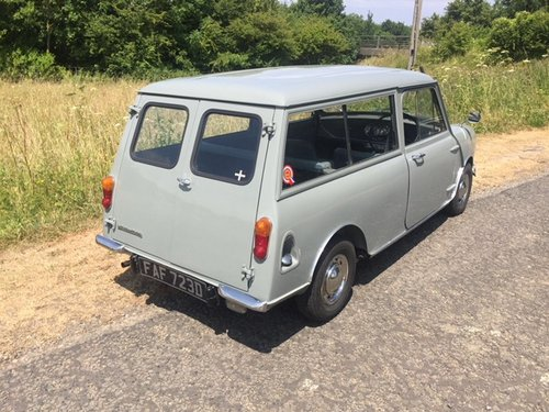Morris Mini Countryman in tweed grey 1966  great condition For Sale (picture 4 of 6)