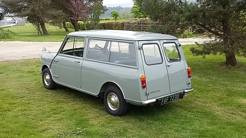 Morris Mini Countryman in tweed grey 1966  great condition For Sale (picture 5 of 6)