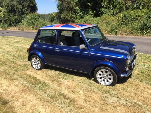 2000 Rover Mini Cooper Sport 2,300 miles only in Tahiti blue For Sale (picture 2 of 6)