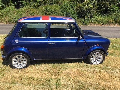 2000 Rover Mini Cooper Sport 2,300 miles only in Tahiti blue For Sale (picture 3 of 6)