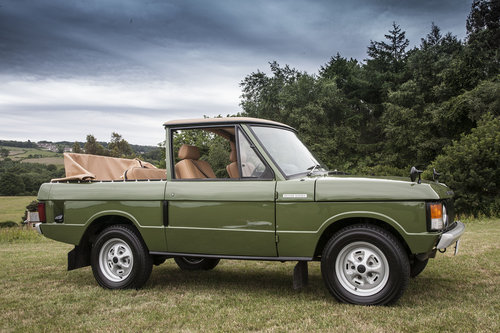 1971 Range Rover Suffix A Convertible SOLD (picture 3 of 6)