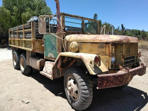 1949 US ARMY M35-A2 Transport Truck For Sale (picture 1 of 6)
