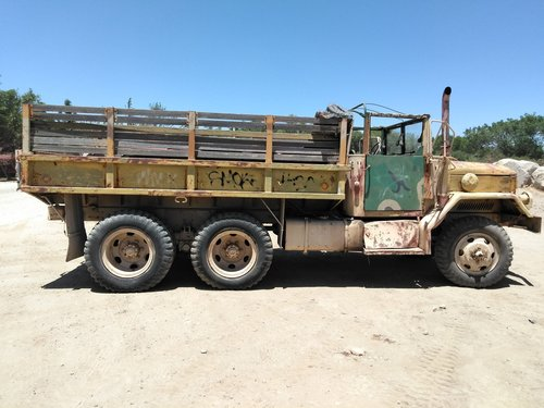 1949 US ARMY M35-A2 Transport Truck For Sale (picture 3 of 6)