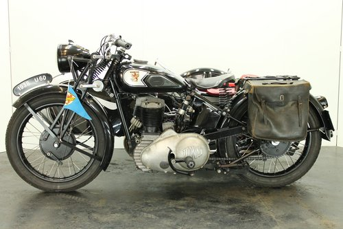 Tornax U60 1938 600cc 1 cyl sv combination For Sale (picture 2 of 6)