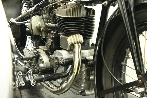 Tornax U60 1938 600cc 1 cyl sv combination For Sale (picture 6 of 6)