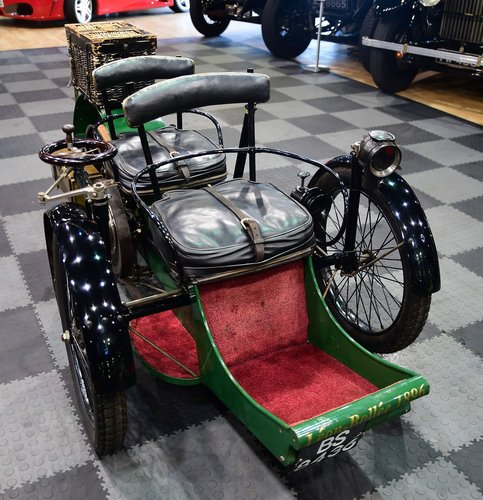 1897 Léon Bollée 2hp Tanden Two Seater SOLD (picture 1 of 6)