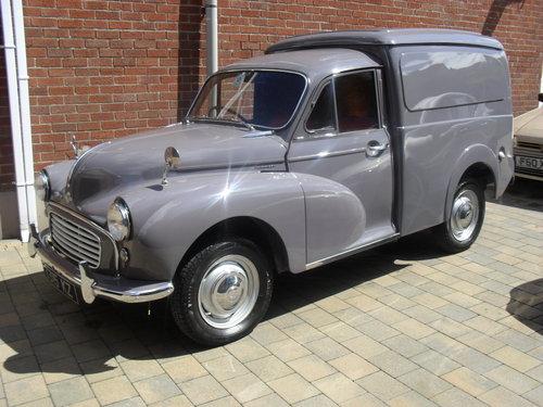1964 Morris Minor Van For Sale (picture 1 of 6)