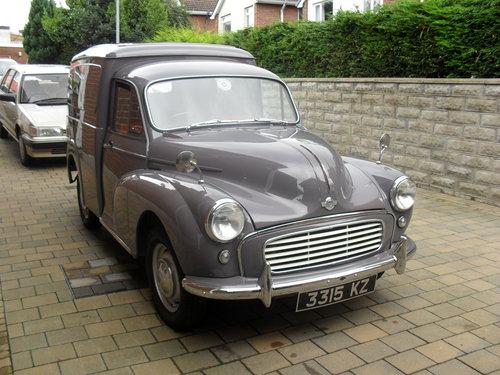 1964 Morris Minor Van For Sale (picture 3 of 6)