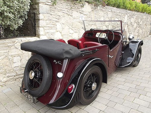 1934 FORD MODEL Y ALPINE TOURER BY ARROW COACHBUILDERS SOLD (picture 2 of 6)