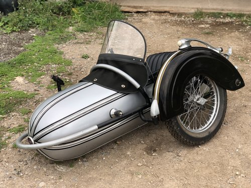 1950 Original Steib S 500 Sidecar SOLD (picture 1 of 6)