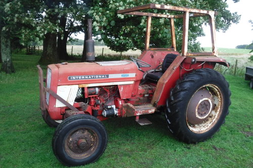 1972 INTERNATIONAL 454 AFFORDABLE TRACTOR CAN DROP SEE VID SOLD