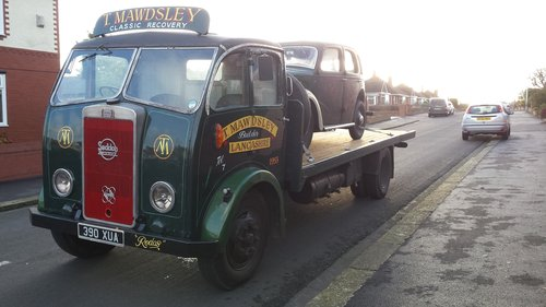 SEDDON DIESEL.1953 1 OF 10 SPECIAL CABS MADE For Sale (picture 1 of 3)