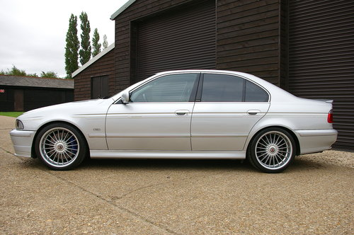 2002 Alpina E39 B10 4.8 V8 S Auto Saloon LHD (39381 miles) SOLD (picture 1 of 6)