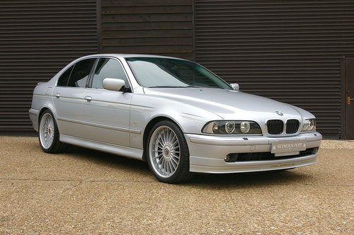 2002 Alpina E39 B10 4.8 V8 S Auto Saloon LHD (39381 miles) SOLD (picture 2 of 6)