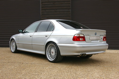 2002 Alpina E39 B10 4.8 V8 S Auto Saloon LHD (39381 miles) SOLD (picture 3 of 6)