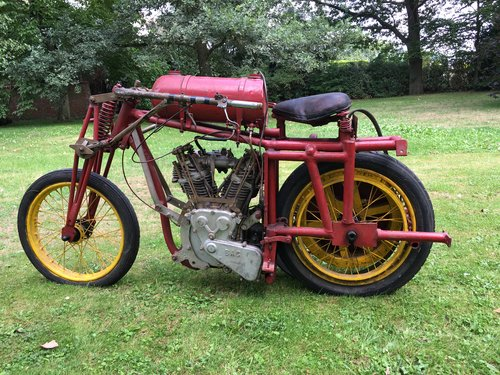 c 1925 pacer racing motorcycle   2400 cc v Twin For Sale (picture 2 of 6)