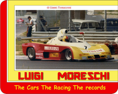 1965 Book: Luigi Moreschi - The Cars, The Racing, The records For Sale (picture 1 of 6)
