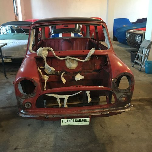 1970 Innocenti Mini Cooper MK3 998 CC for restoration For Sale (picture 1 of 6)