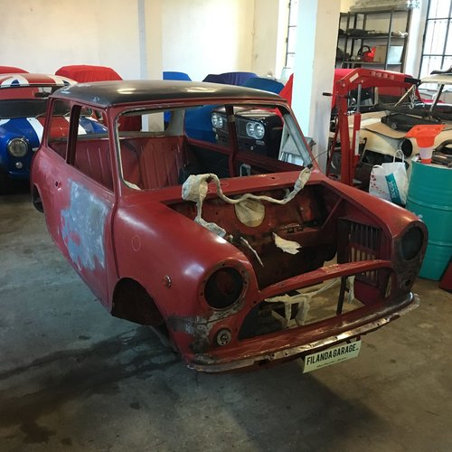 1970 Innocenti Mini Cooper MK3 998 CC for restoration For Sale (picture 2 of 6)