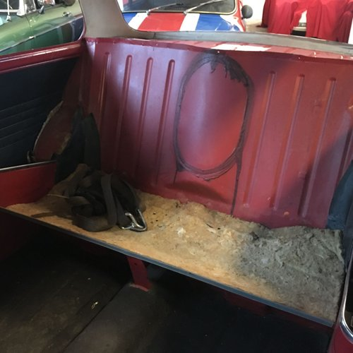 1970 Innocenti Mini Cooper MK3 998 CC for restoration For Sale (picture 5 of 6)