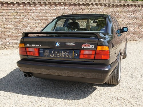 1992 Alpina BMW B10 Bi-Turbo E34 very rare, one of only 507 made, For Sale (picture 6 of 6)