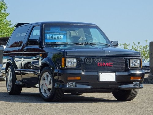 1992 GMC Syclone null 4 3 3dr TYPHOON 4 3 TURBO SYCLONE LHD