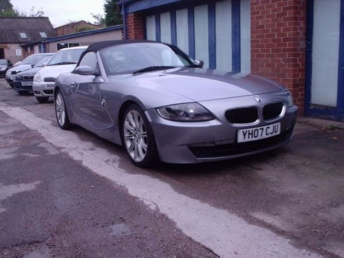 2007 BMW Z4 in Silver Grey Metallic For Sale (picture 6 of 6)